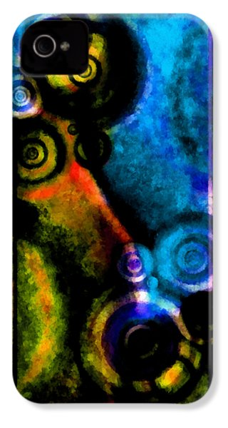 A Drop In The Puddle 2 IPhone 4s Case by Angelina Vick