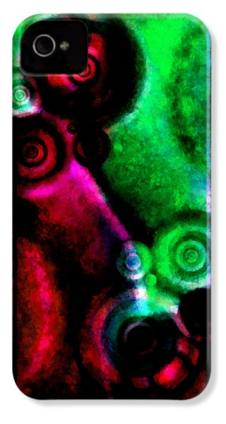 A Drop In The Puddle 3 IPhone 4s Case by Angelina Vick