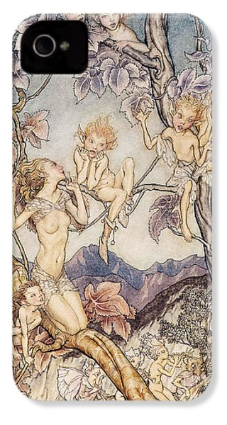 A Fairy Song From A Midsummer Nights Dream IPhone 4s Case