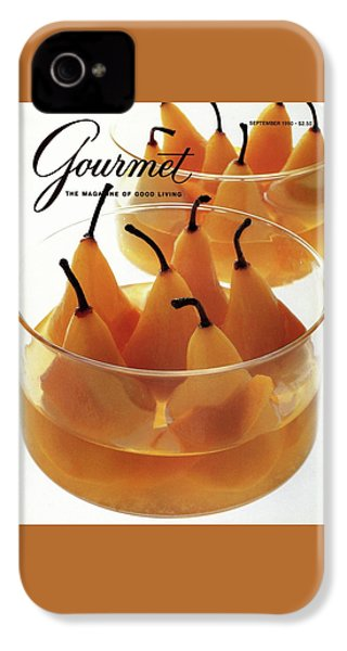 A Gourmet Cover Of Baked Pears IPhone 4s Case
