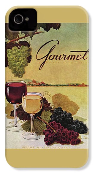 A Gourmet Cover Of Wine IPhone 4s Case