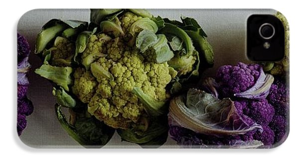A Group Of Cauliflower Heads IPhone 4s Case by Romulo Yanes