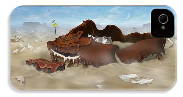 A Slow Death In Piano Valley - Panoramic IPhone 4s Case by Mike McGlothlen