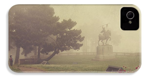 A Walk In The Fog IPhone 4s Case by Laurie Search