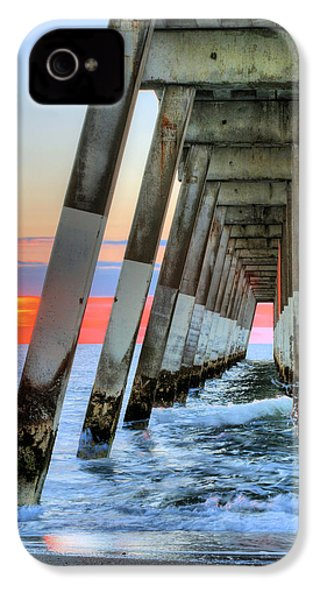 A Wrightsville Beach Morning IPhone 4s Case by JC Findley