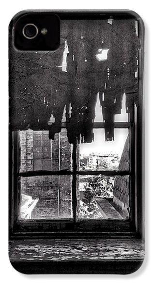 Abandoned Window IPhone 4s Case by H James Hoff