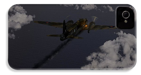 Above And Beyond - Jimmy Ward Vc IPhone 4s Case by Gary Eason