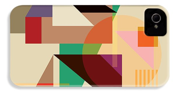Abstract Shapes #4 IPhone 4s Case by Gary Grayson