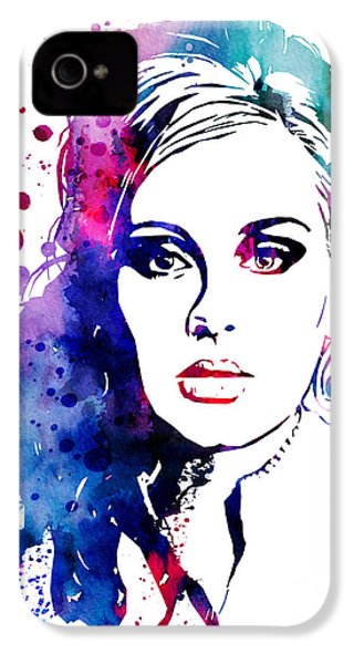 Adele IPhone 4s Case by Watercolor Girl