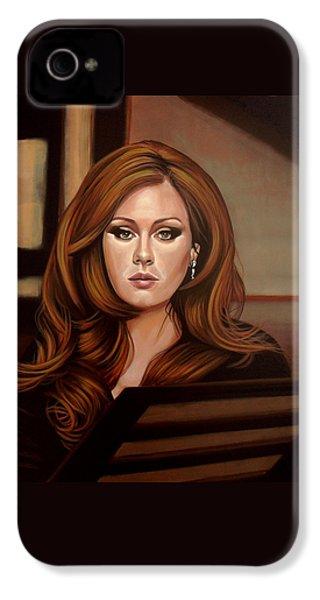Adele IPhone 4s Case by Paul Meijering