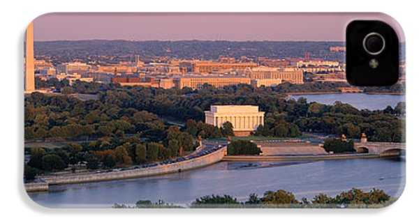 Aerial, Washington Dc, District Of IPhone 4s Case by Panoramic Images