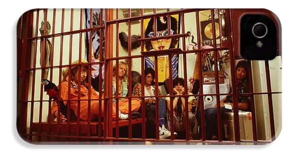 Aerosmith - In A Cage 1980s IPhone 4s Case by Epic Rights