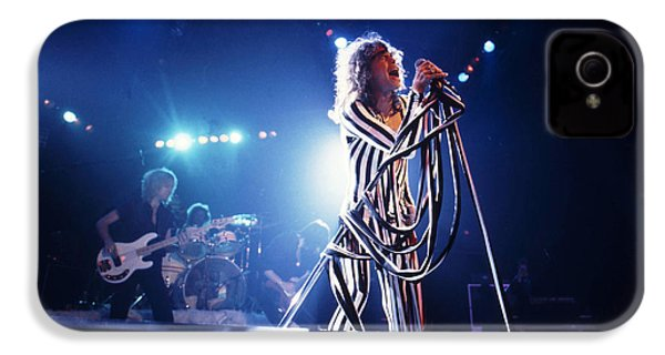 Aerosmith - Pinstripes And Love Bites 1970s IPhone 4s Case by Epic Rights