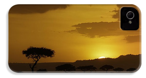 African Sunrise IPhone 4s Case by Sebastian Musial