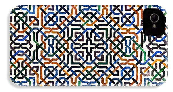 Alhambra Tile Detail IPhone 4s Case by Jane Rix