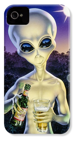 Alien Brew IPhone 4s Case