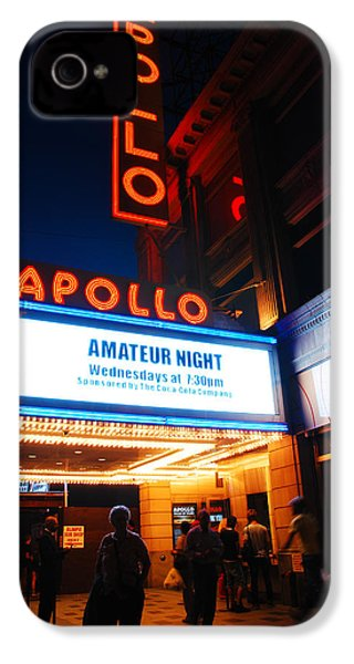 Amateur Night IPhone 4s Case by James Kirkikis