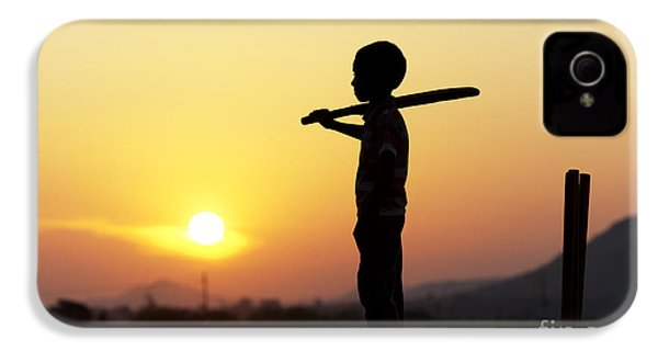 Any One For Cricket IPhone 4s Case by Tim Gainey