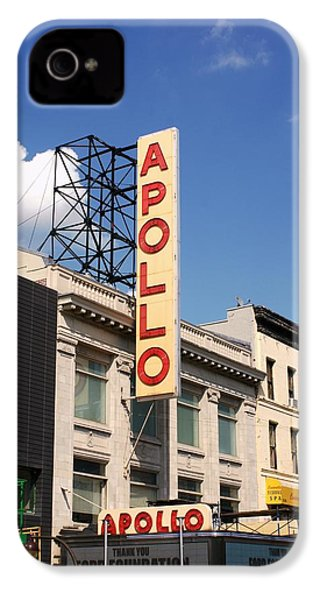 Apollo Theater IPhone 4s Case by Martin Jones