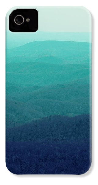 Appalachian Mountains IPhone 4s Case by Kim Fearheiley