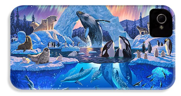 Arctic Harmony IPhone 4s Case by Chris Heitt