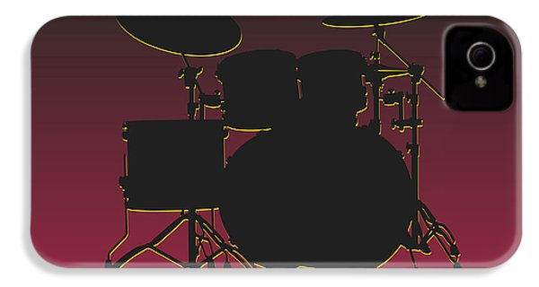 Arizona Cardinals Drum Set IPhone 4s Case by Joe Hamilton