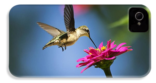 Art Of Hummingbird Flight IPhone 4s Case by Christina Rollo
