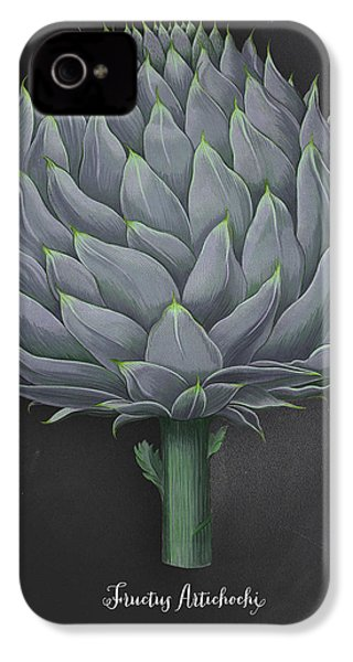 Artichoke Kitchen Art Print IPhone 4s Case