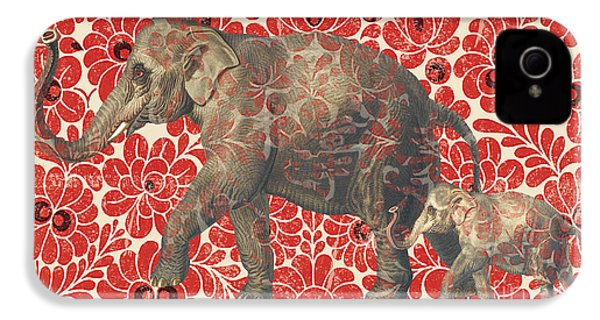 Asian Elephant-jp2185 IPhone 4s Case by Jean Plout
