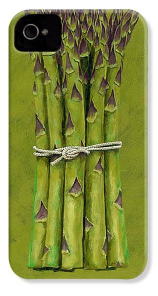 Asparagus IPhone 4s Case by Brian James