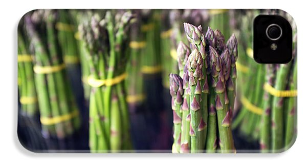 Asparagus IPhone 4s Case by Tanya Harrison