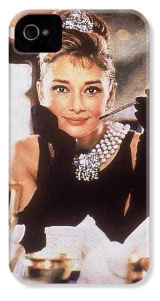 Audrey Hepburn IPhone 4s Case by Georgia Fowler