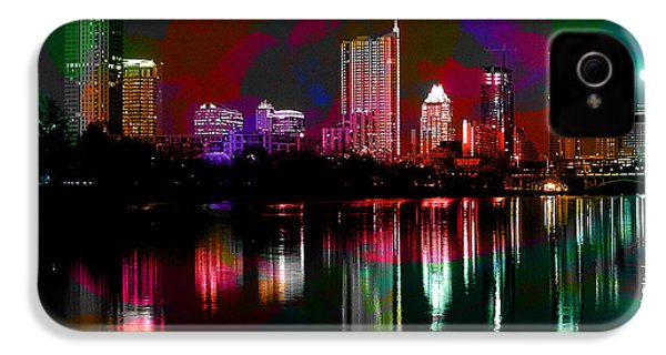 Austin Texas Skyline IPhone 4s Case by Marvin Blaine