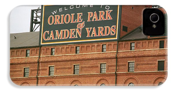 Baltimore Orioles Park At Camden Yards IPhone 4s Case by Frank Romeo