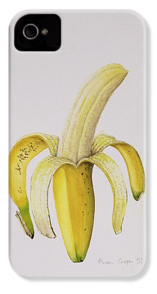 Banana IPhone 4s Case by Alison Cooper