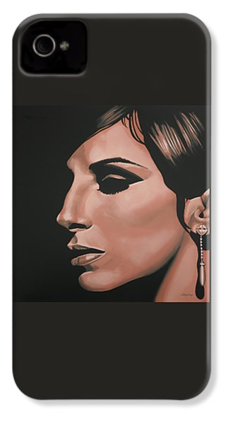 Barbra Streisand IPhone 4s Case by Paul Meijering