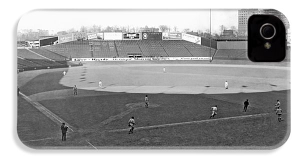 Baseball At Yankee Stadium IPhone 4s Case