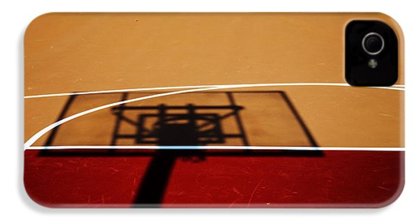 Basketball Shadows IPhone 4s Case by Karol Livote