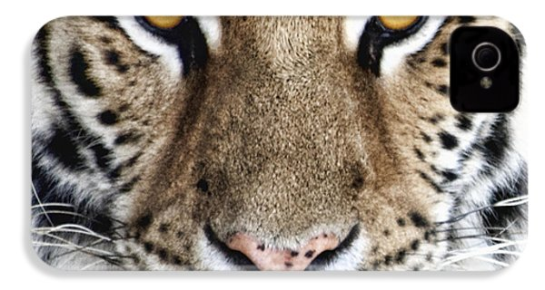 Bengal Tiger Eyes IPhone 4s Case by Tom Mc Nemar