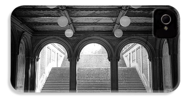 Bethesda Passage Central Park IPhone 4s Case by Dave Beckerman