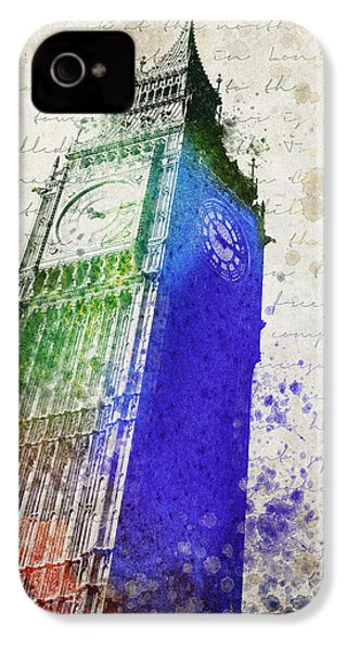 Big Ben IPhone 4s Case by Aged Pixel