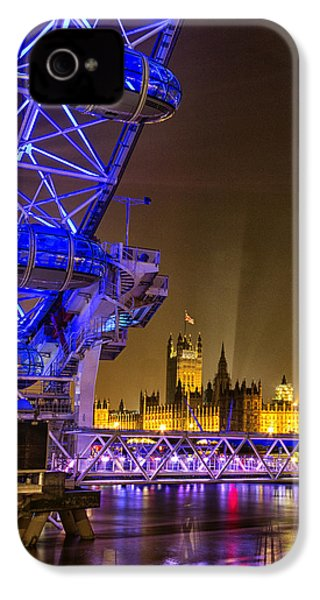 Big Ben And The London Eye IPhone 4s Case by Ian Hufton