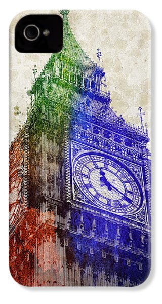 Big Ben London IPhone 4s Case by Aged Pixel