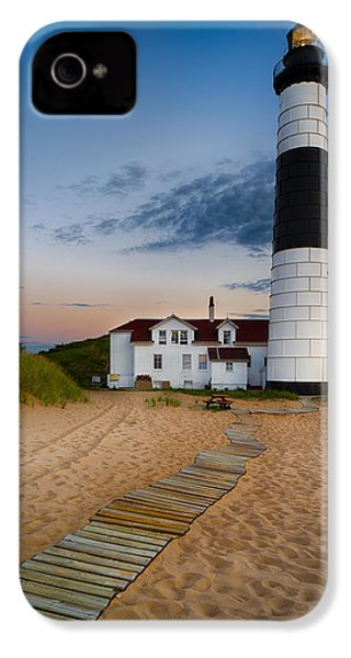Big Sable Point Lighthouse IPhone 4s Case by Sebastian Musial