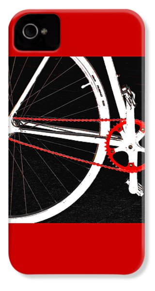 Bike In Black White And Red No 2 IPhone 4s Case