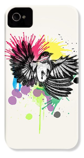 Bird IPhone 4s Case by Mark Ashkenazi