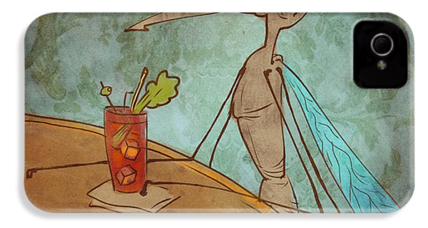 Bloody Mary Mosquito IPhone 4s Case by Jack Myers