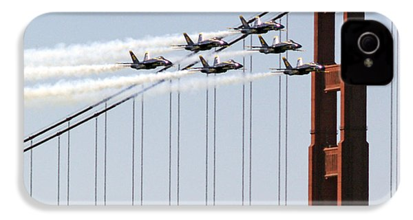 Blue Angels And The Bridge IPhone 4s Case