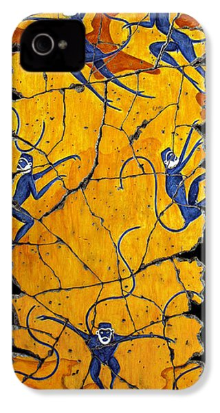 Blue Monkeys No. 41 IPhone 4s Case