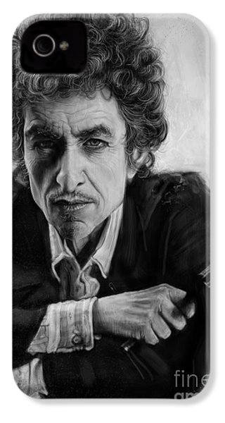 Bob Dylan IPhone 4s Case by Andre Koekemoer